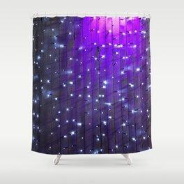 Purple Rain. Fashion Textures Shower Curtain