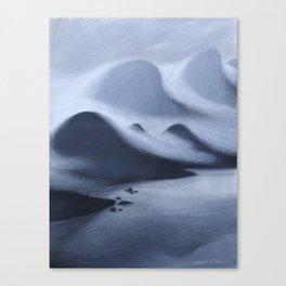 Rainy Trento Canvas Print
