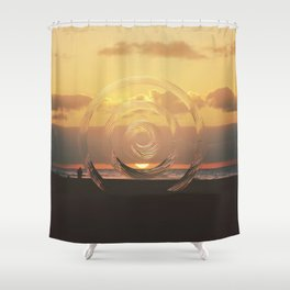Intervention 40 Shower Curtain