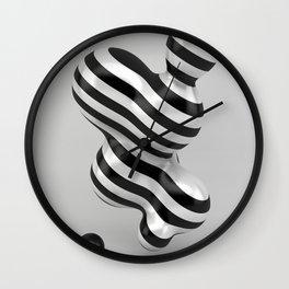 Primitive Stripes Wall Clock
