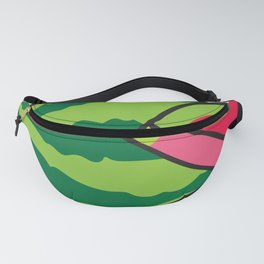 Watermelon and Slice Fanny Pack