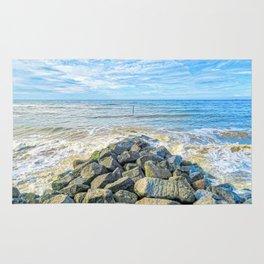Cromer Beach, U.K Rug