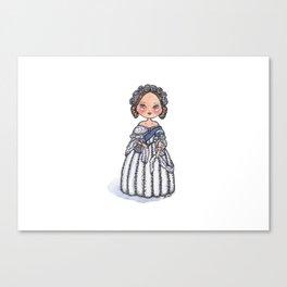Queen Victoria Inspirational Quote Canvas Print