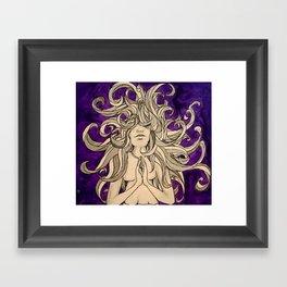 Medusa's Prayer  Framed Art Print