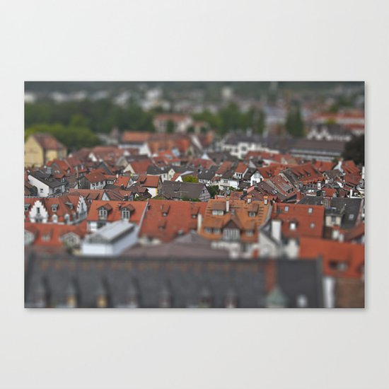 Plastic world Canvas Print