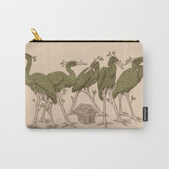Bird Forest Carry-All Pouch