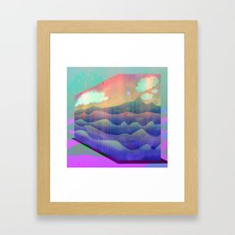 Sea of Clouds for Dreamers Framed Art Print