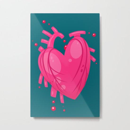 Simple Heart Metal Print