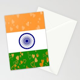 Love India-458 Stationery Cards