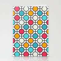polka dots Stationery Cards featuring Polka Dots by Dizzy Moments