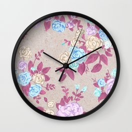 Flower powerz Wall Clock