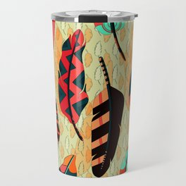 boho pattern Travel Mug