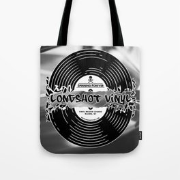 Spinning Forever (B&W) Tote Bag