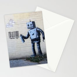 Banksy, Robot Stationery Cards
