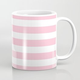 pastel rose stripes Coffee Mug