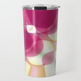 Striations Pinks and Beiges Travel Mug
