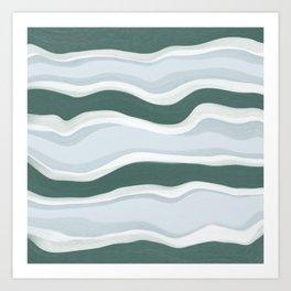 Granada Lines Art Print