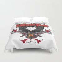 tesla Duvet Covers featuring Nikola Tesla by Spectacle Photo