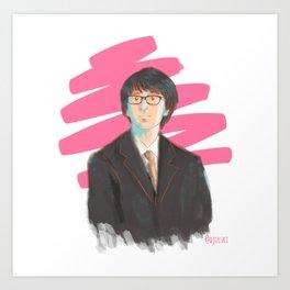 Harry in Suit Art Print