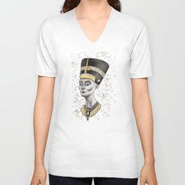Queen Nefertiti Unisex V-Neck