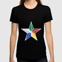 Druze star symbol of Druze religion Lebanon T-shirt