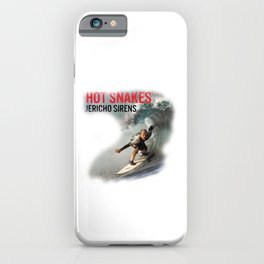 Hot Snakes - Jericho Sirens iPhone Case