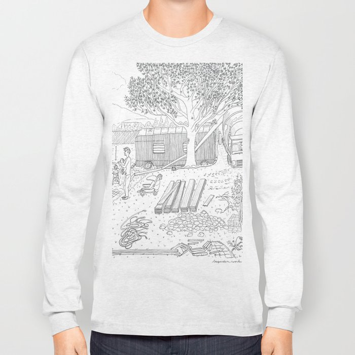 beegarden.works 015 Long Sleeve T-shirt