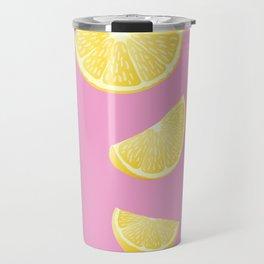 Pull up with a Lemon Travel Mug