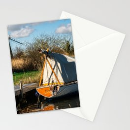 Mill, boats and Broads Stationery Cards