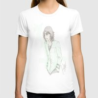 bleach T-shirts featuring Bleach: Ulquiorra by JaneSheep