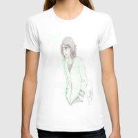 bleach T-shirts featuring Bleach: Ulquiorra by JaneSheep