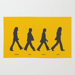Abbey Road - Yellow Rug