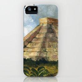 Mayan Pyramid iPhone Case
