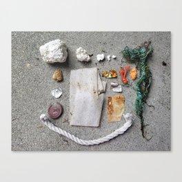 Lost & Found. Please Claim. #25 Canvas Print