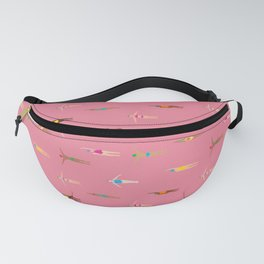 Swimmers in a Sea of Pink Fanny Pack