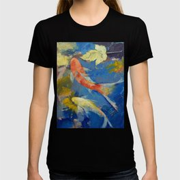 Autumn Koi Garden T-shirt