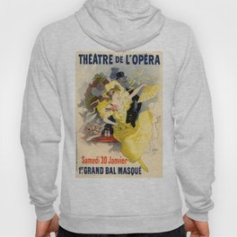 Belle Epoque vintage poster, French Theater, Theatre de L'Opera Hoody