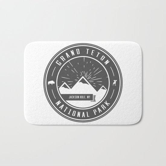 Grand Teton National Park Bath Mat