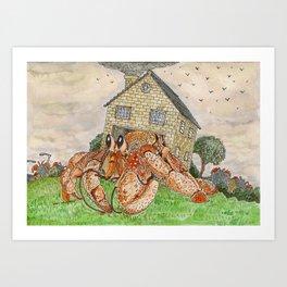 Hermit Apocalypse Art Print
