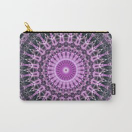 Mandala in pink and violet tones Carry-All Pouch