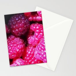 Summer with Raspberries Stationery Cards