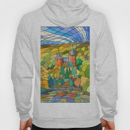Castell Coch Reflections Hoody