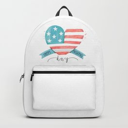 Happy Presidents Day With Love Backpack