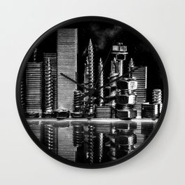 Steel City Wall Clock