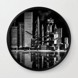 Steel City Wall Clock