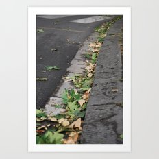Italy Curb Art Print