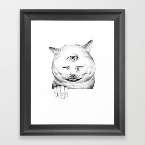 human after all II Framed Art Print