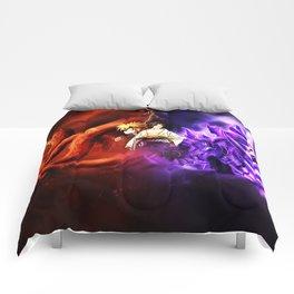 naruto vs sasuke Comforters