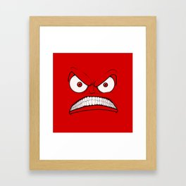 Emotional Angry Monday - by Rui Guerreiro Framed Art Print