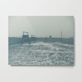Auschwitz 01 Metal Print